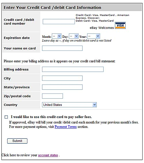 Ebay Payment Options >> Setting Up Your Payment Options Selling On Ebay How To Join Up