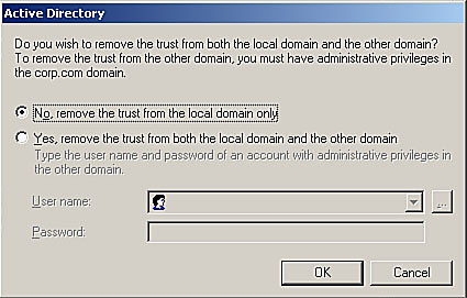 Active Directory Trust Relationships | Managing an Active
