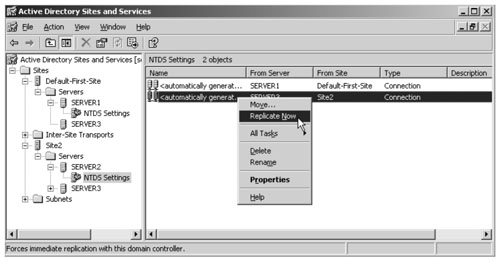 Active Directory Site Topology | Managing an Active