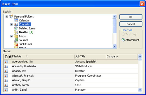 Sending Attachments | Sending and Receiving E-mail in Office