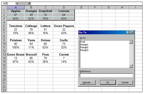 Using the CurrentRegion Property to Quickly Select a Data Range