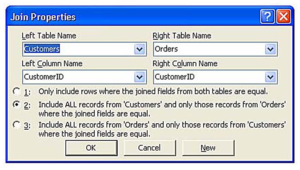Creating Other Types of Joins   Working with Multiple-Table