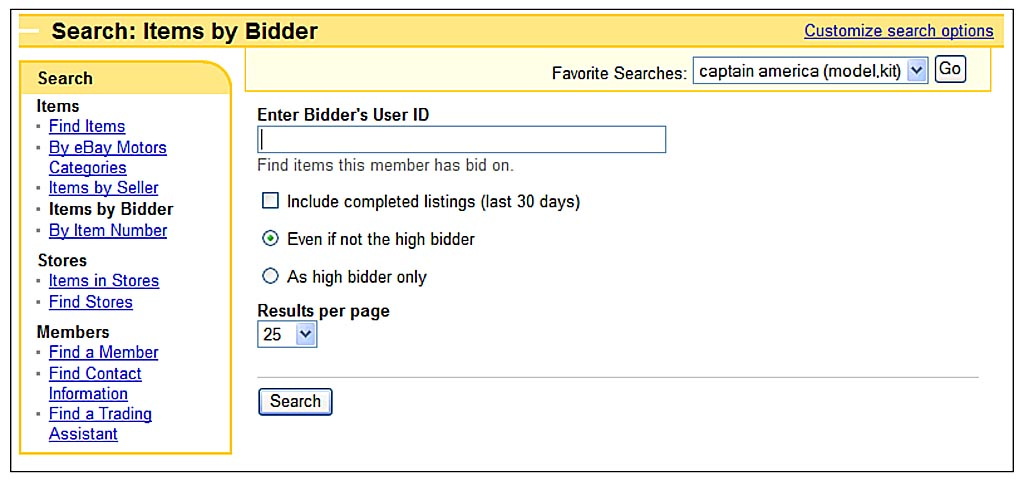 Searching For Bargains Tricks Of The Ebay Masters How To Find What You Want To Buy Informit