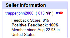 Absolute Beginner S Guide To Understanding And Using Feedback On Ebay What Do All Those Stars And Numbers Mean Informit