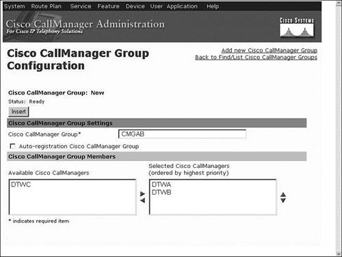 Deploying Cisco CallManager and Unity Devices > Adding Clients