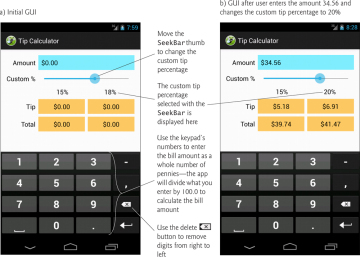 building an android tip calculator app 3 1 introduction informit