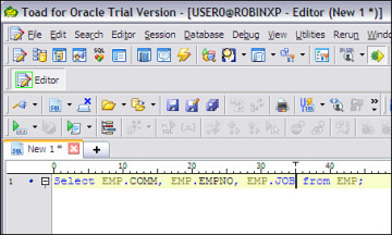 Toad Insights   Toad for Oracle Unleashed: Working with SQL