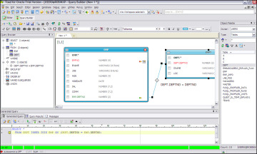 Query Builder | Toad for Oracle Unleashed: Working with SQL | InformIT