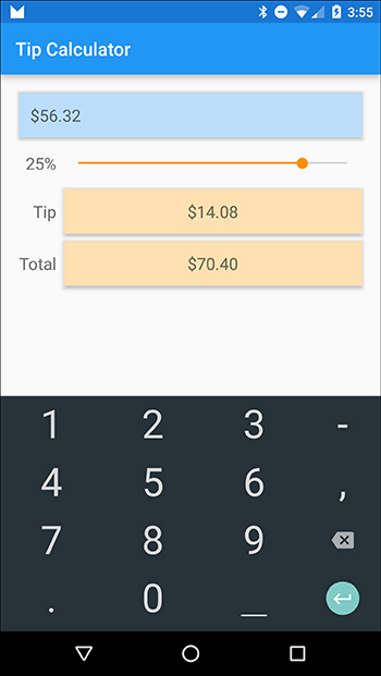 How to Create a Tip Calculator App in Android 6 | 3 1