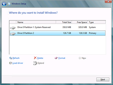 Installing a Clean Version of Windows Server 2012 Operating