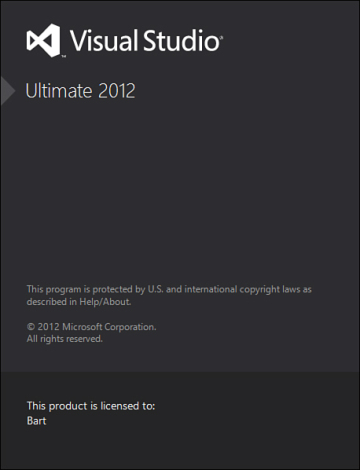 Visual Studio 2012 | Getting Started with  NET Development