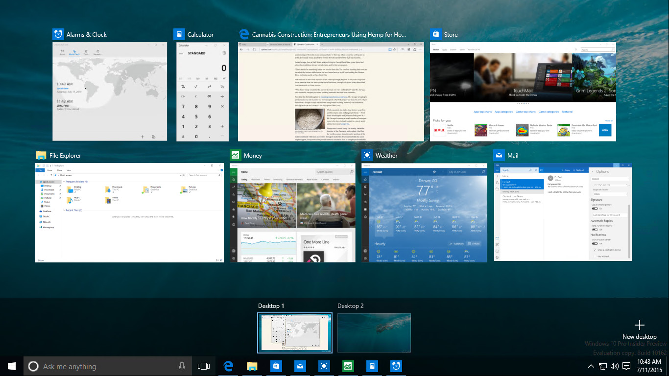 using windows 10 microsoft press store