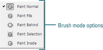 Using Paint Brush Modes | Creating Graphics in Adobe Flash