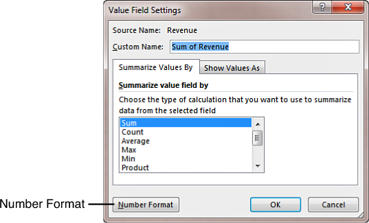 Customizing an Excel 2013 Pivot Table | Making Common Cosmetic ...