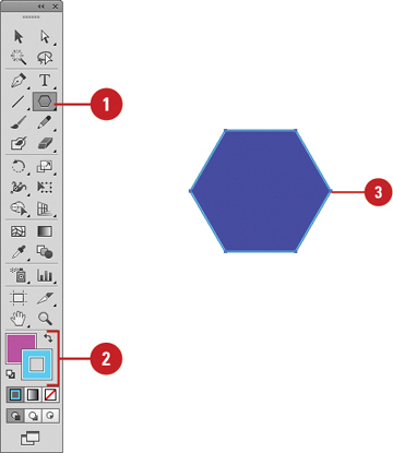Creating Polygons and Stars | Working with Objects in Adobe