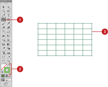 Creating Grids Working With Objects In Adobe Illustrator Cs6