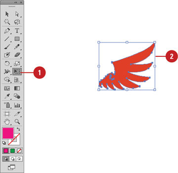 Using the Free Transform Tool | Working with Objects in Adobe