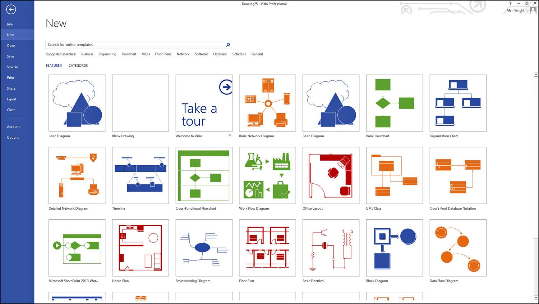 Working with Basic Diagrams in Microsoft Visio 2013 | Making Diagrams |  InformITInformIT