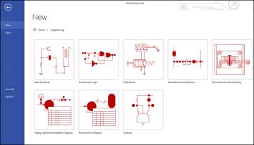 working with basic diagrams in microsoft visio 2013 making rh informit com visio ladder logic Microsoft Visio Diagram