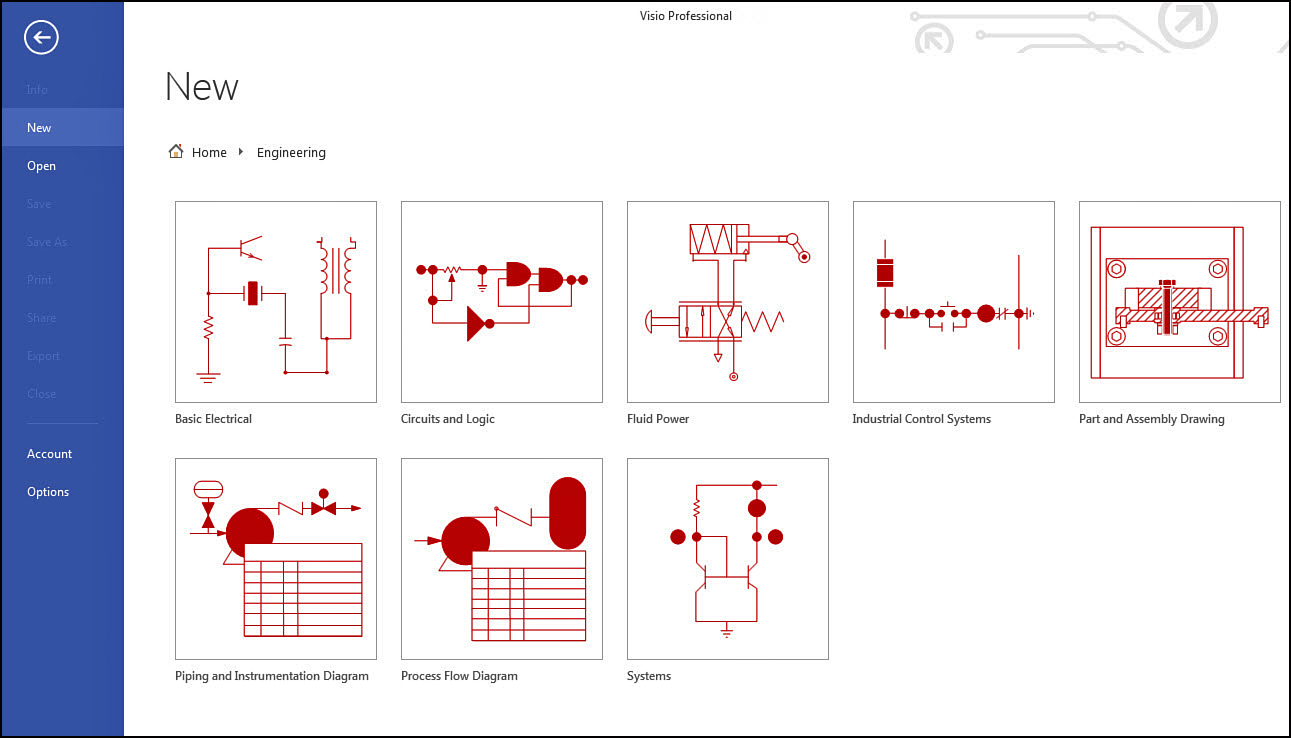 working with basic diagrams in microsoft visio 2013 making diagrams informit - Visio Shapes Electrical