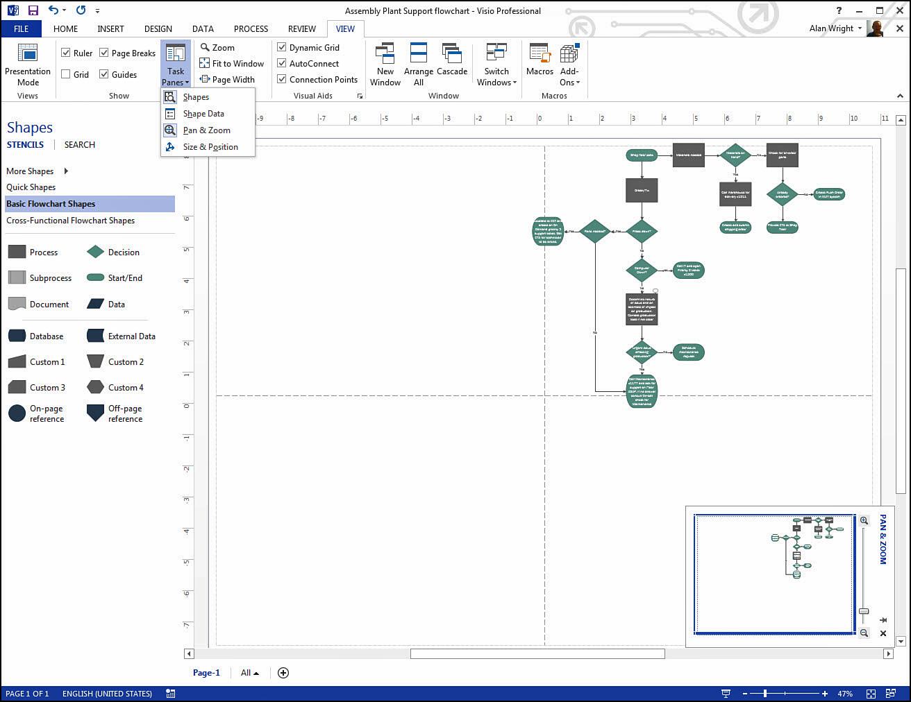 Visio Flowchart Shapes Best Free Network Diagram Software