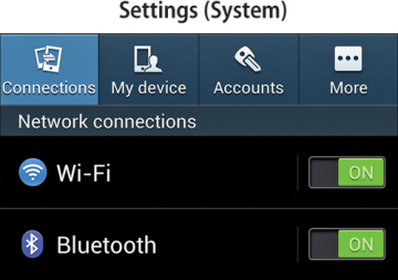 Changing System Settings   Making the Samsung Galaxy S4 Your Own