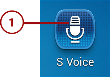Using Voice Services | Making the Samsung Galaxy S4 Your Own | InformIT