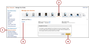 Managing Your Kindle Devices | Using Amazon's