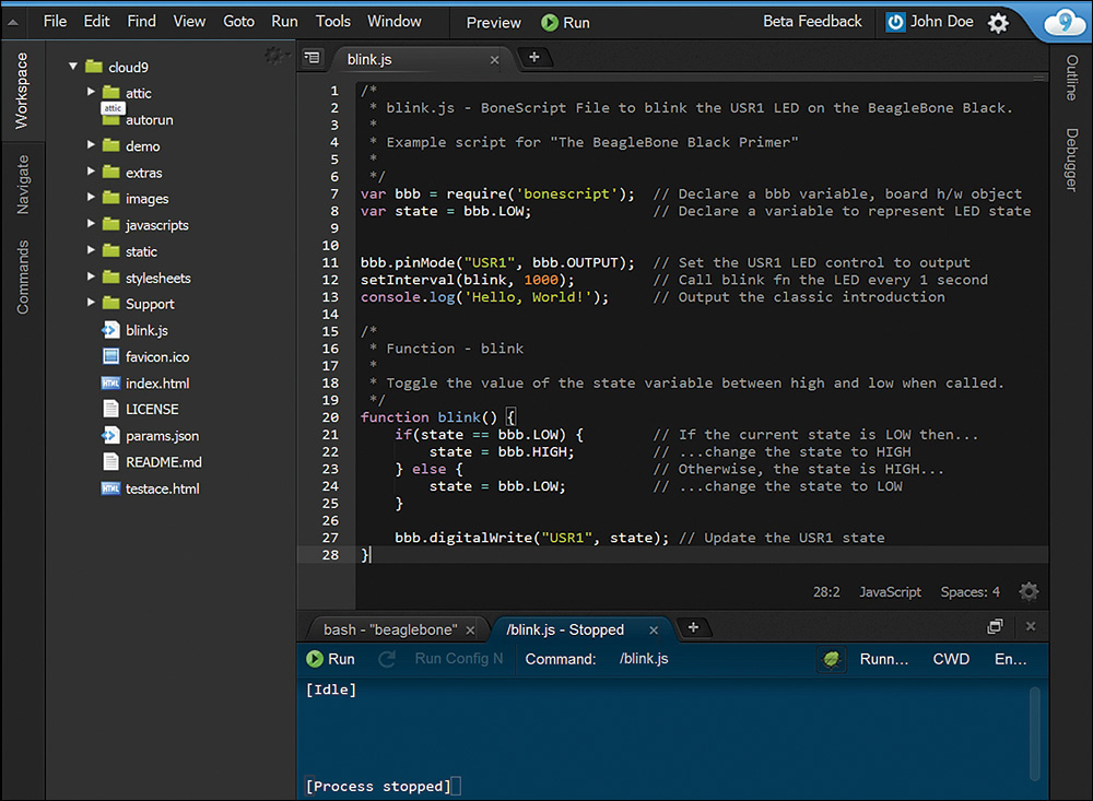 Getting started with the beaglebone black setting up and saying getting started with the beaglebone black setting up and saying hello world informit fandeluxe Image collections