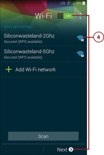 Running the Setup Wizard in Your Samsung Galaxy S5 | Run the Setup