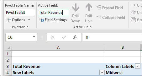 Customizing a Pivot Table in Excel 2016 | Making Common