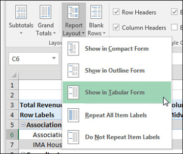 static header in excel