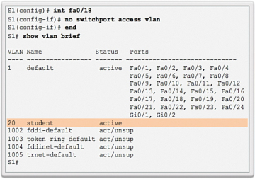 VLAN Implementations (3 2) > Cisco Networking Academy's Introduction
