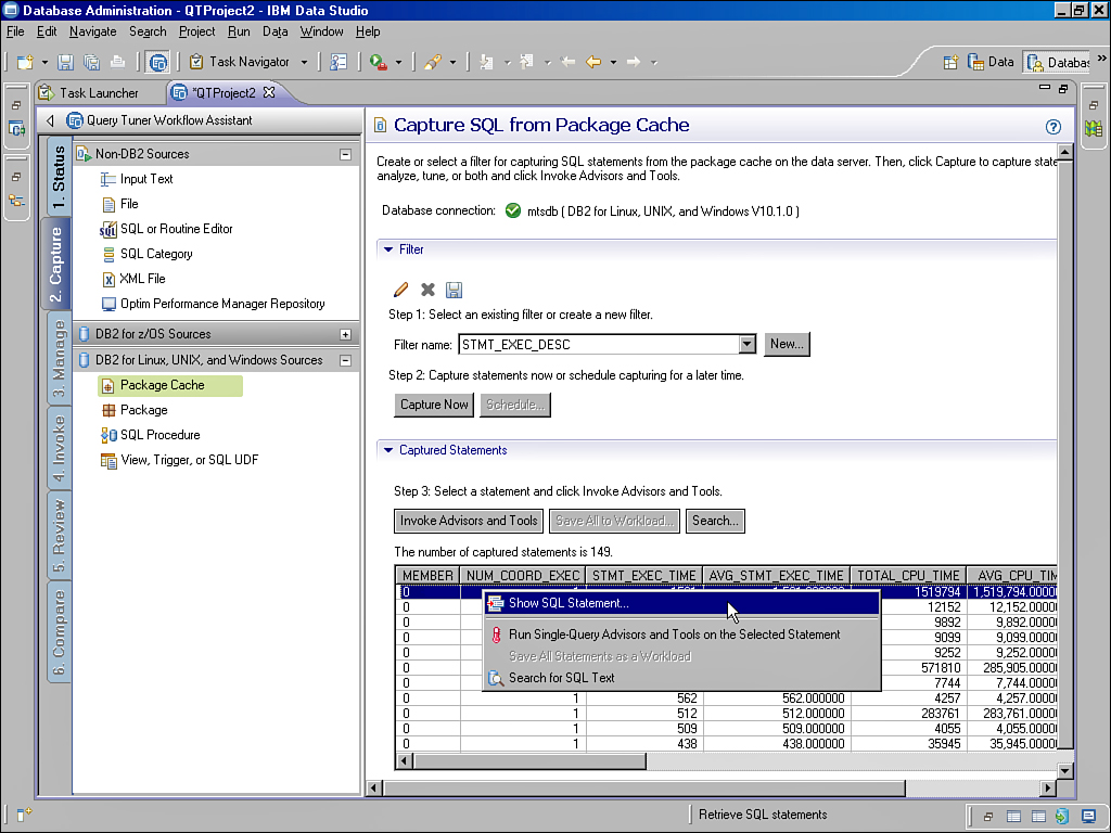 IBM Data Studio | Using Database Tools and Utilities in DB2 | InformIT