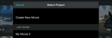 how to choose part of a song in imovie iphone