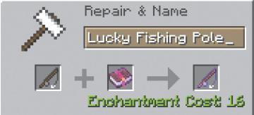 Fishing Pole Minecraft