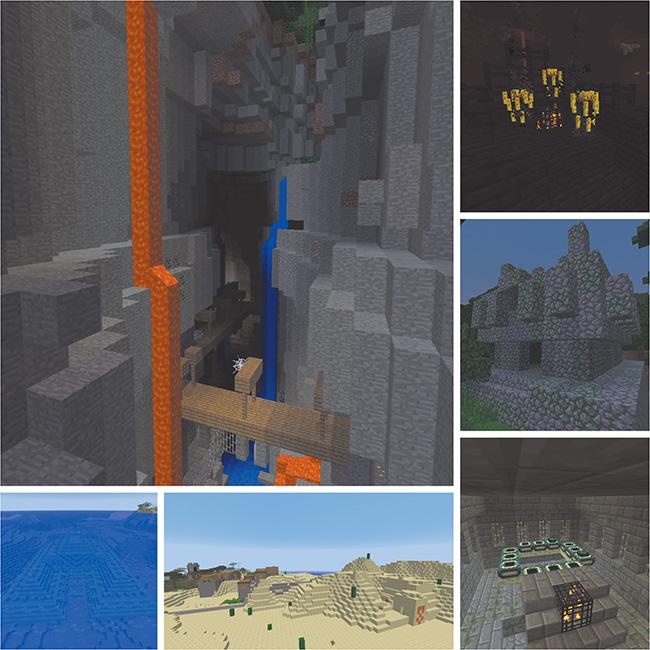 World-Generated Structures | Minecraft Basics | Peachpit