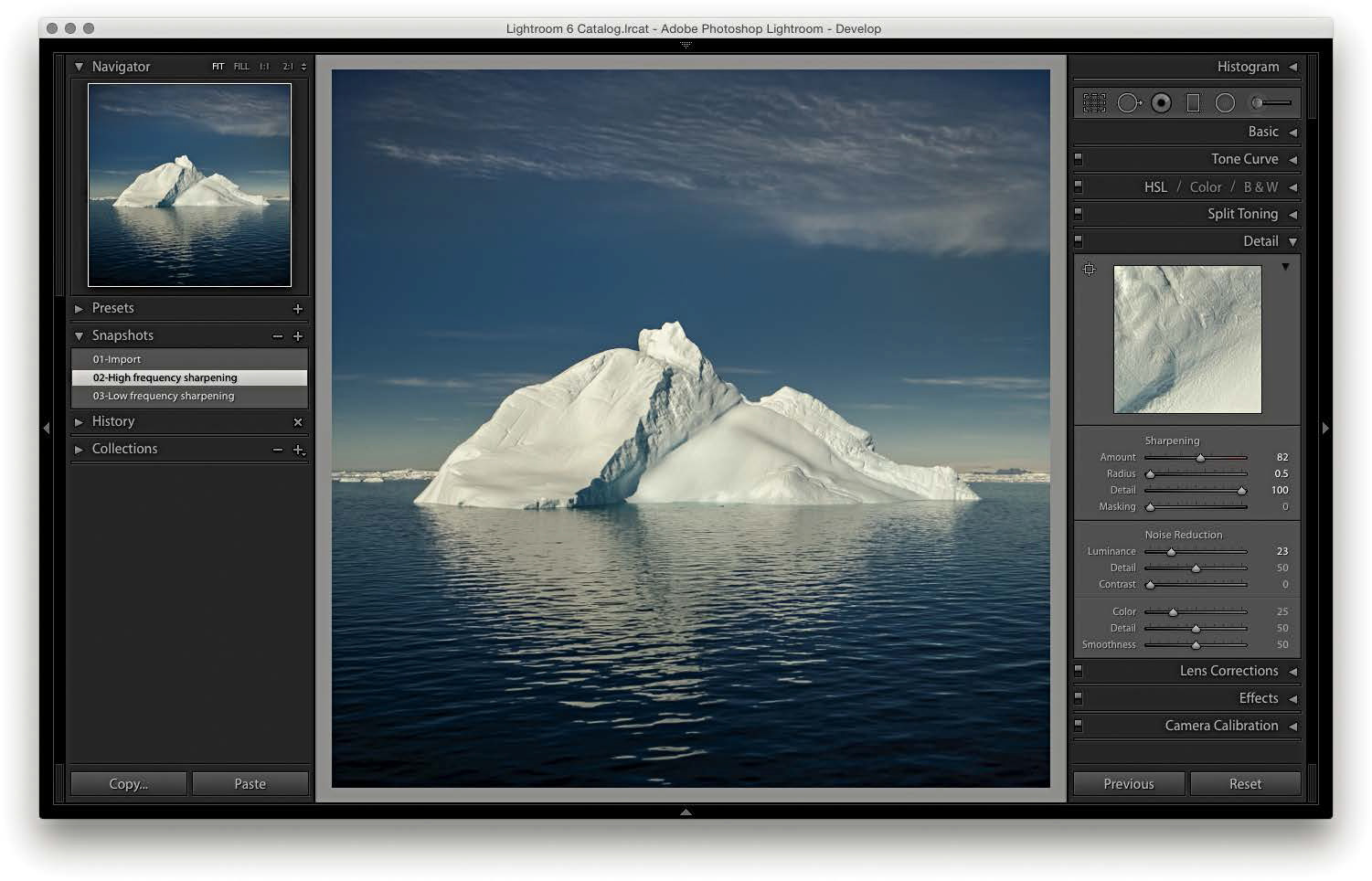 Maximizing Image Detail in Lightroom or Camera Raw