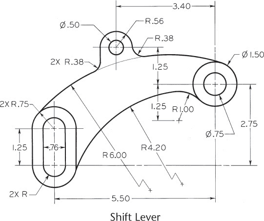 4 3 Drawing an Arc Tangent to a Line or Arc and Through a