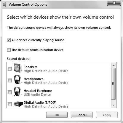 Configuring Sound and Audio Devices | Personalizing Your Work
