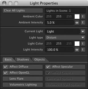 Inside LightWave 3D v10: Lighting | Working with Lights