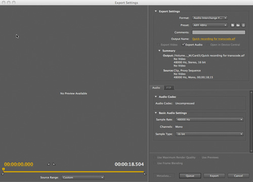Supported File Types | An Editor's Guide to Adobe Premiere