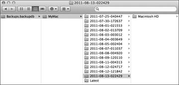 delete backups.backupdb folder