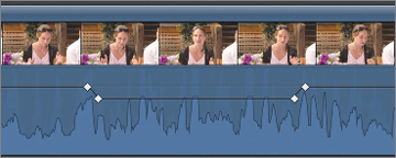 how to change sound levels in final cut pro x