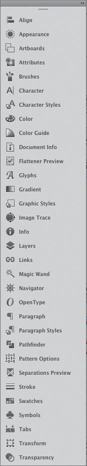 Get Familiar with Panels in Adobe Illustrator CS6 | The Illustrator