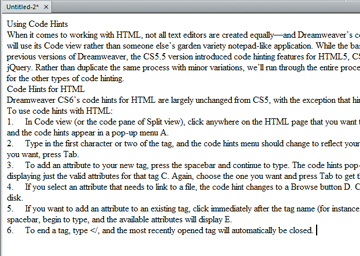 dreamweaver how link pdf to text