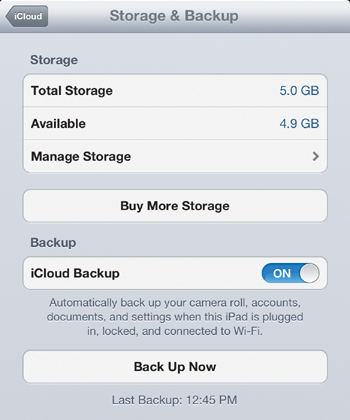 how to create more space on icloud