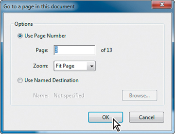 how to delete link in adobe acrobat