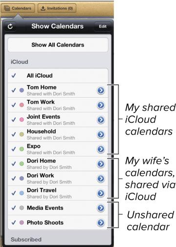 how to clean up icloud calendar