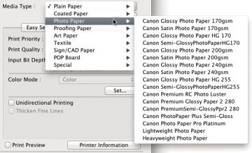 Printing From Photoshop